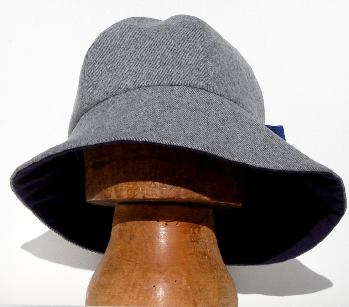 ay widebrim tweed front